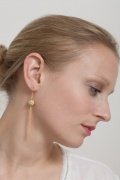  chain-drop earring